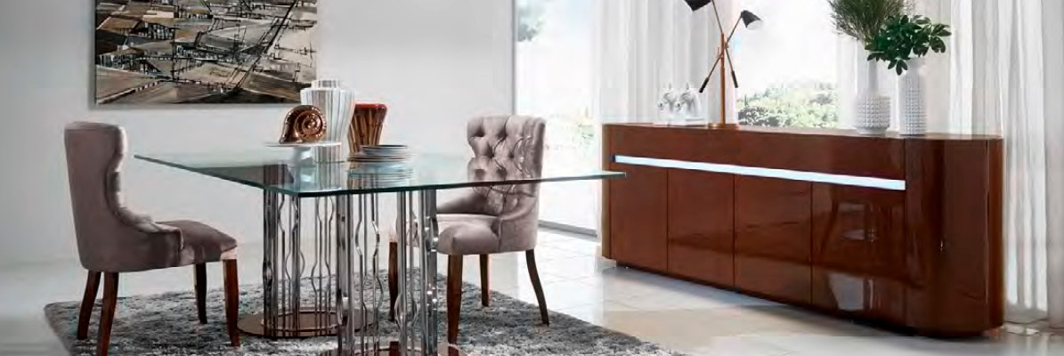 un mueble de comedor moderno y elegante villalba