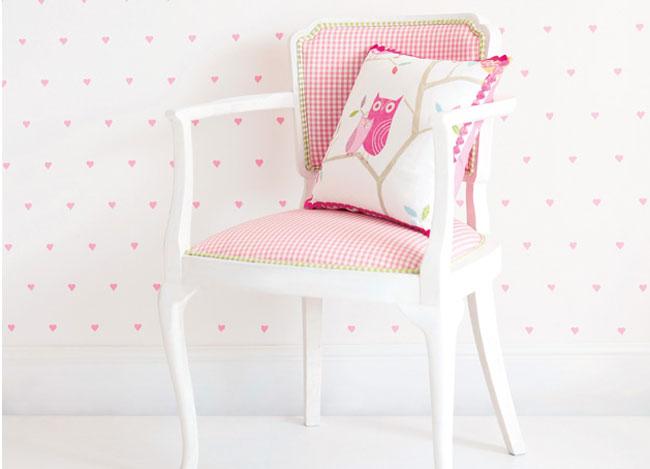 Papel pintado para habitaciones de niñas - Villalba Interiorismo (3)