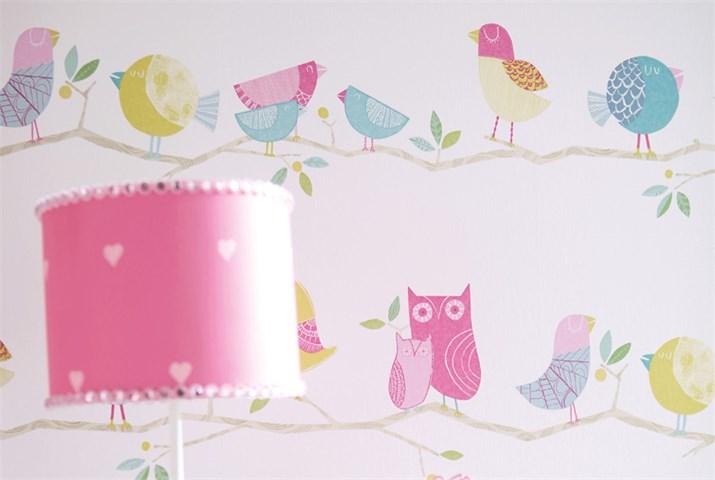 Papel pintado para habitaciones de niñas - Villalba Interiorismo (4)