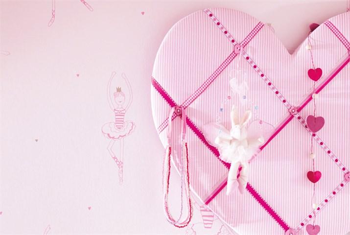 Papel pintado para habitaciones de niñas - Villalba Interiorismo (6)