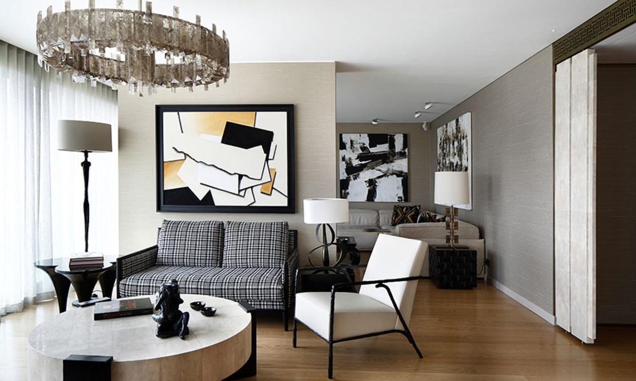 C mo elegir el color del papel pintado villalba interiorismo for Colores de moda para pintar pasillos