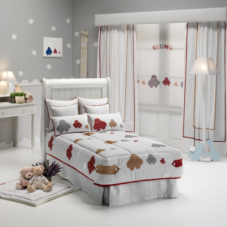 Ideas en rojo para habitaciones de ni os villalba - Estores para habitacion de bebe ...