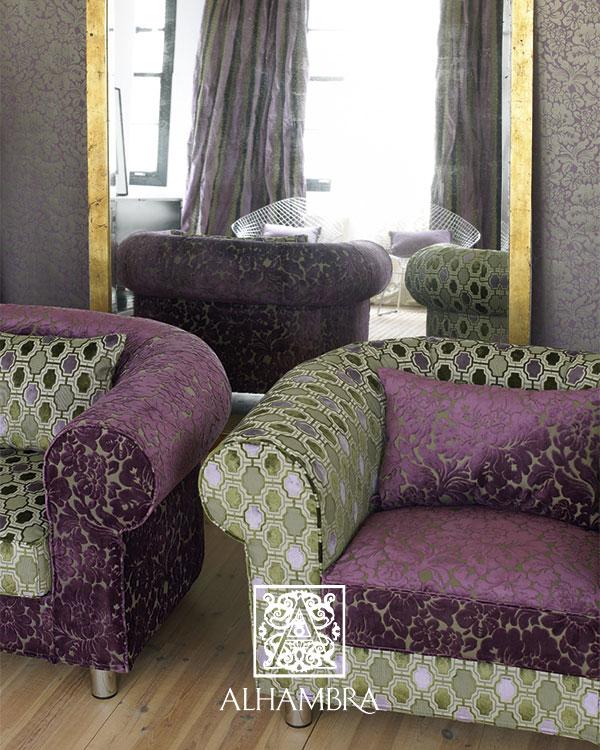 4 atrevidas combinaciones de tapicer as de sillones y - Telas de terciopelo para tapizar ...