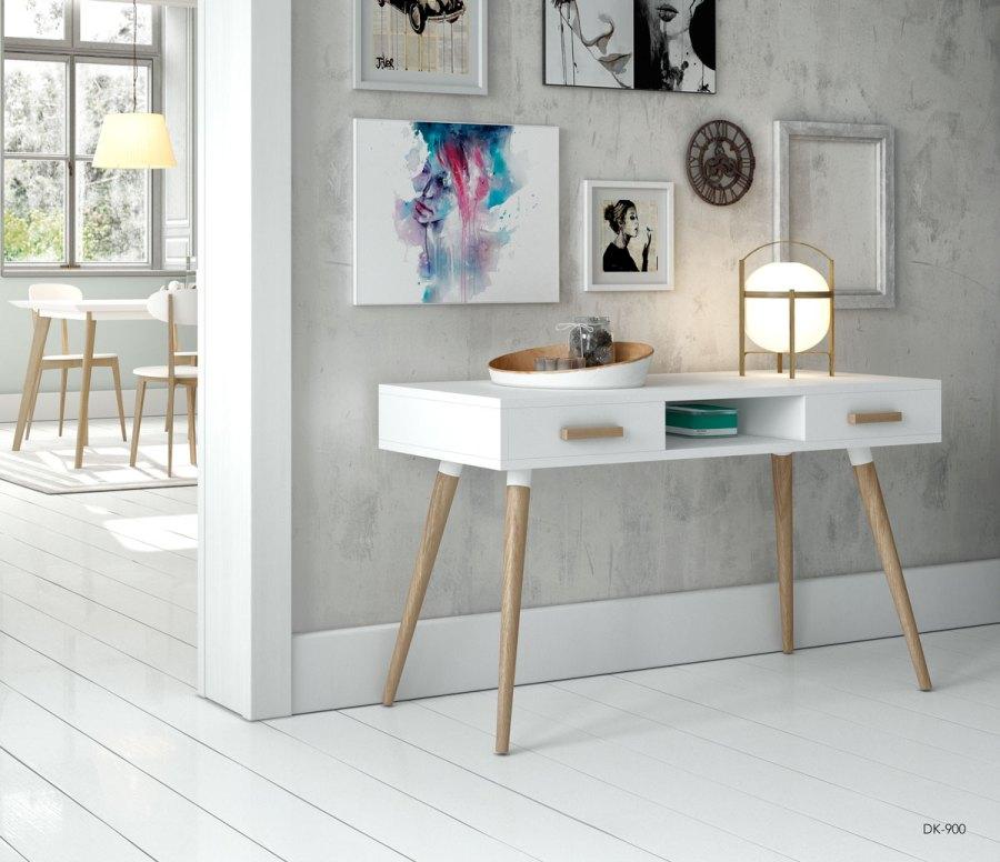 Escritorio estilo nórdico - Villalba Interiorismo