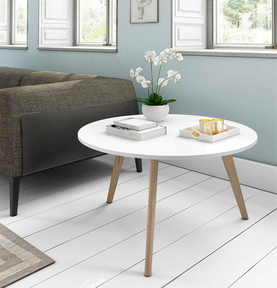 Mesa estilo nórdico - Villalba Interiorismo