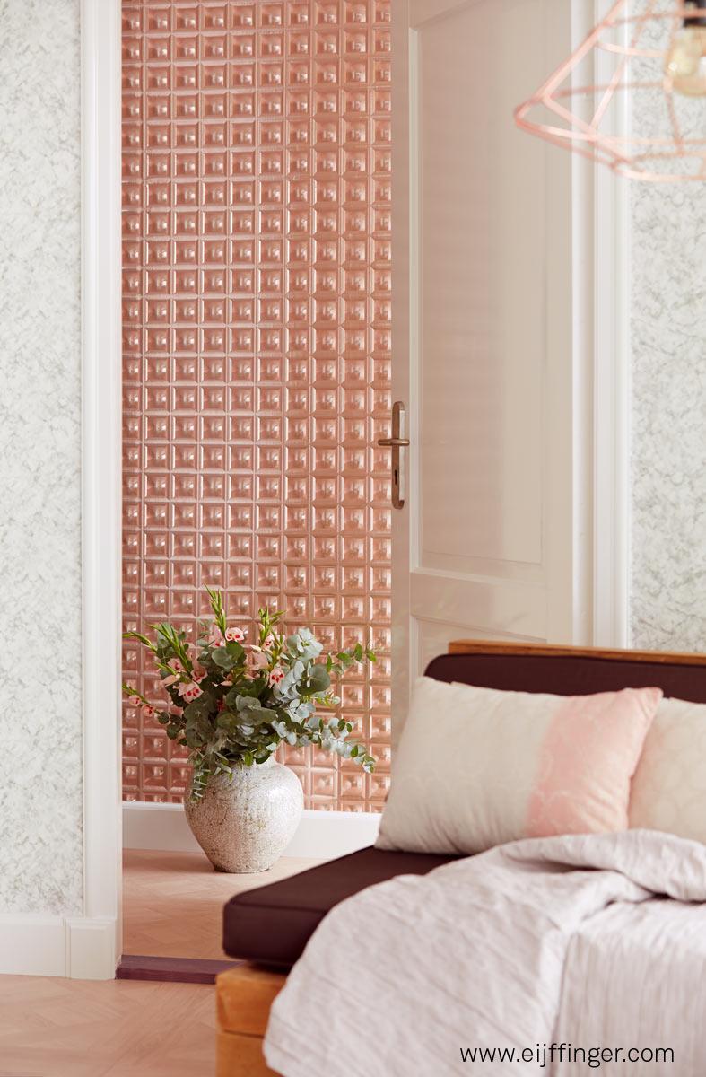Papel pintado moderno con brillo - Villalba Interiorismo (8)