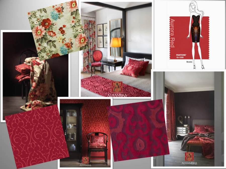 Rojo color tendencia - Villalba Interiorismo