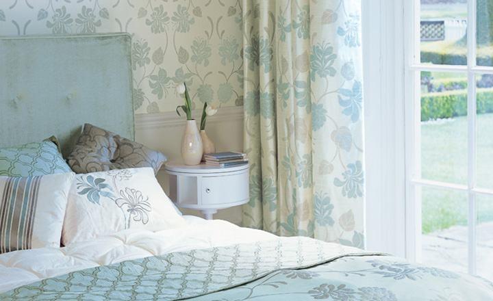 Dobles cortinas en dormitorio - Villalba Interiorismo (3)