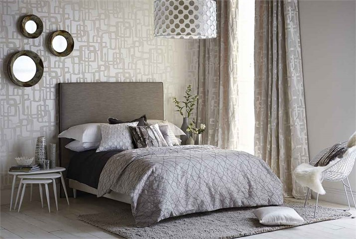 Dobles cortinas en dormitorio - Villalba Interiorismo (5)