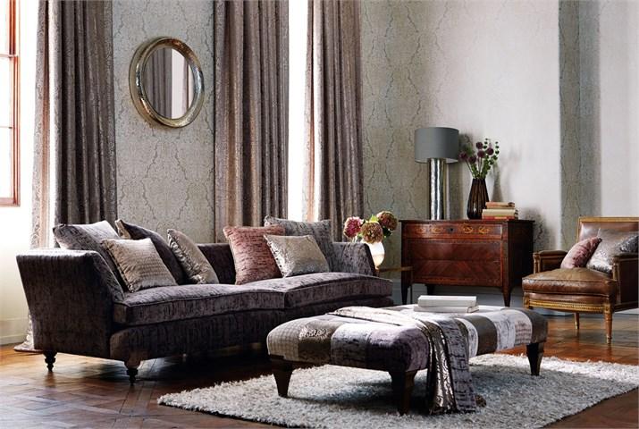 Dobles cortinas en salón - Villalba Interiorismo (3)