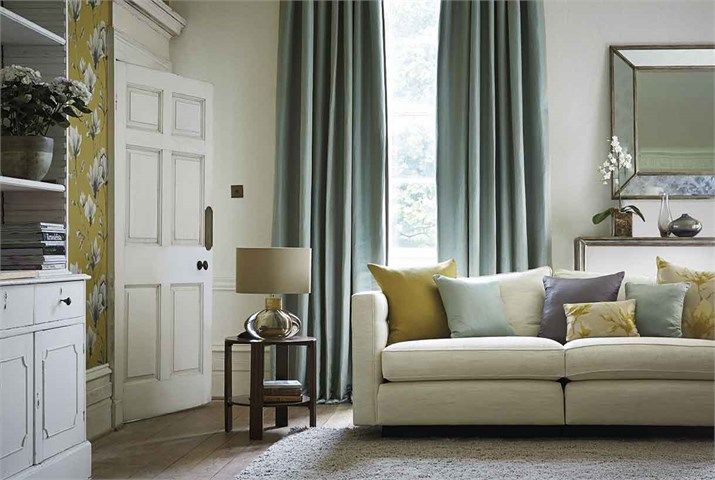 Dobles cortinas en salón - Villalba Interiorismo (5)