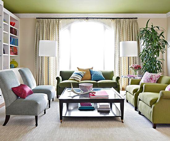 Dobles cortinas en salón - Villalba Interiorismo (6)