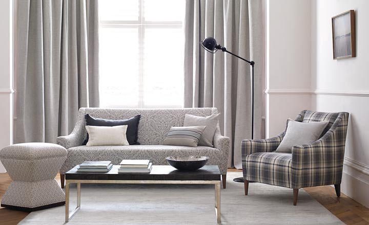 Dobles cortinas en salón - Villalba Interiorismo (8)
