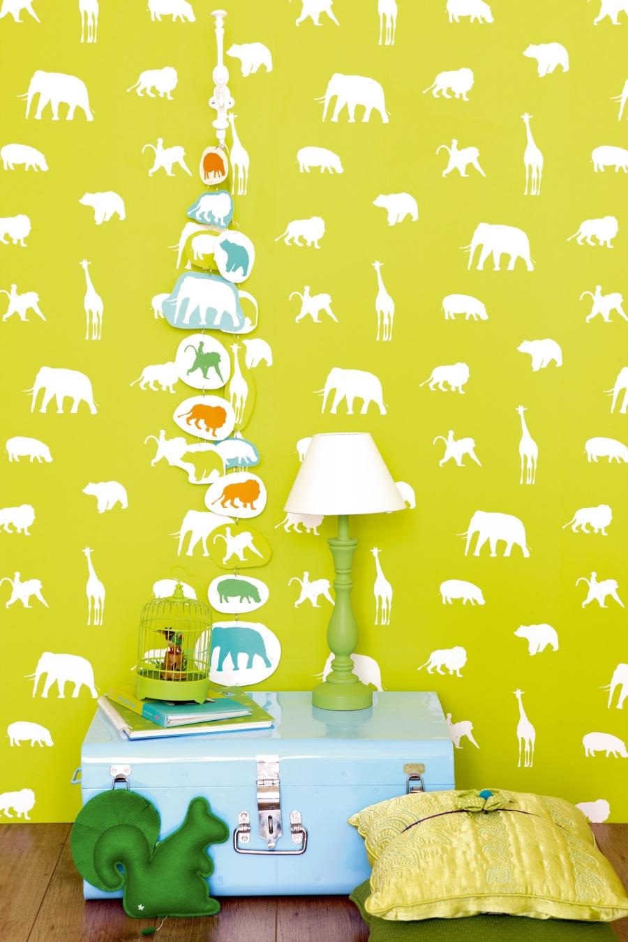 Papeles pintados con animales - Villalba Interiorirsmo