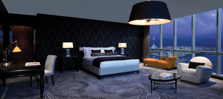 Dormitorio de lujo con textiles - Villalba Interiorismo (2)