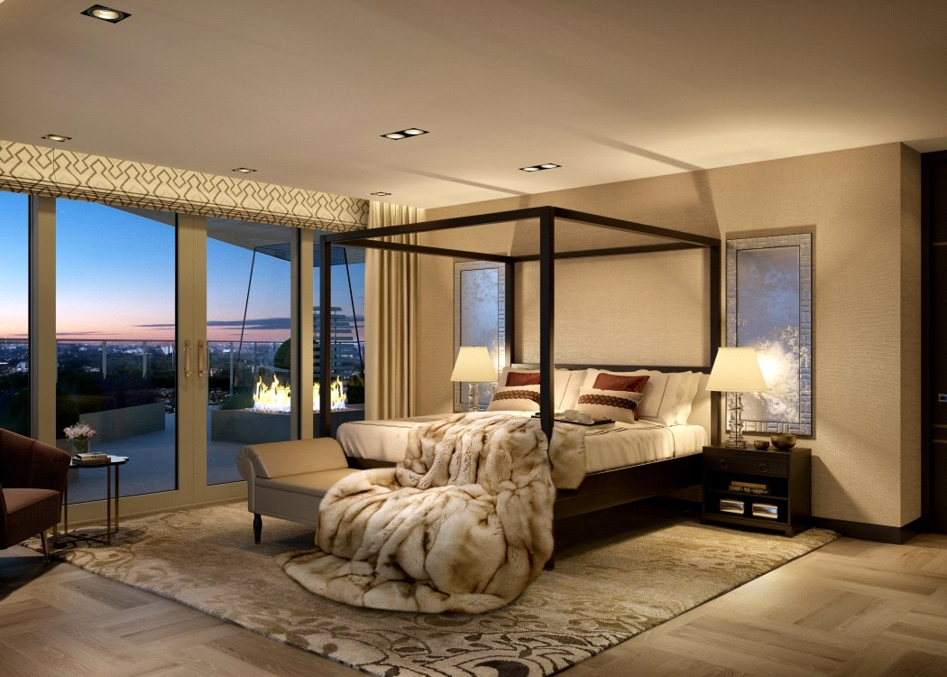 5 textiles indispensables para un dormitorio de lujo villalba interiorismo - Fotos de interiorismo ...