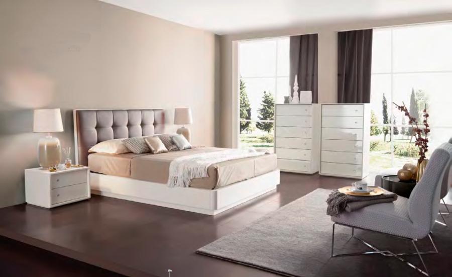 Dormitorio de lujo con textiles - Villlaba Interiorismo