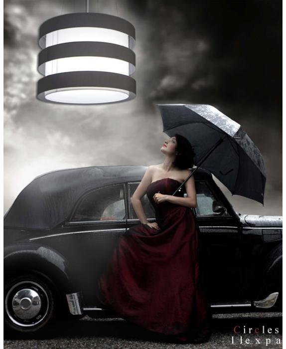 Lámpara techo elegante Ilexpa - Villalba Interiorismo