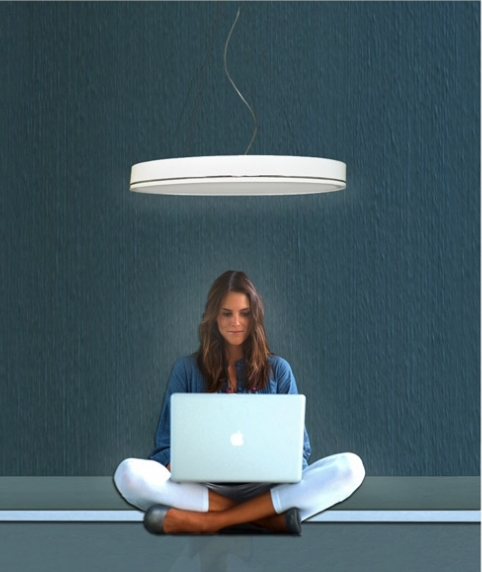 Lámpara techo minimalista Ilexpa- Villalba Interiorismo