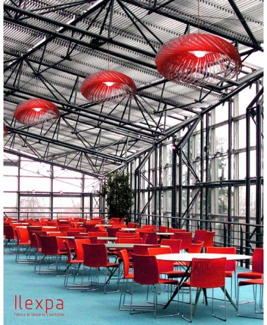 Lámpara techo moderna Ilexpa - Villalba Interiorismo