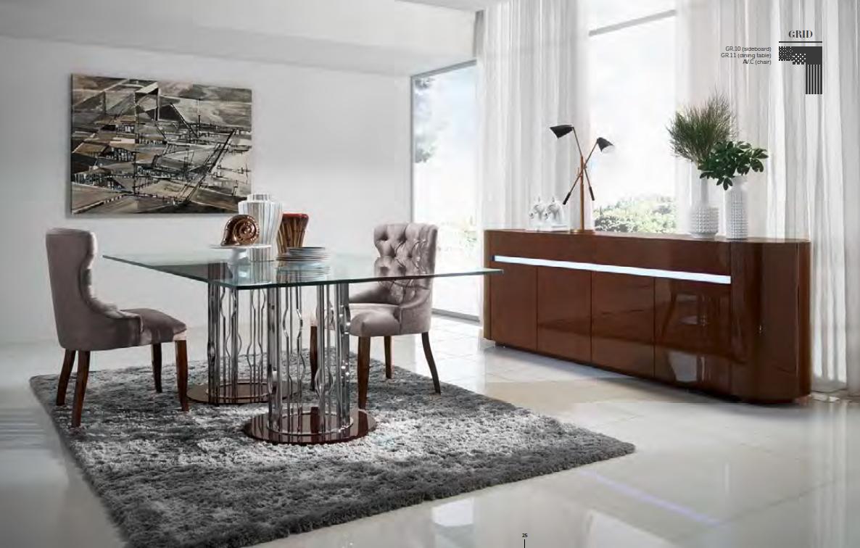 The gallery for comedores modernos 2014 for Mesas de comedor de cristal
