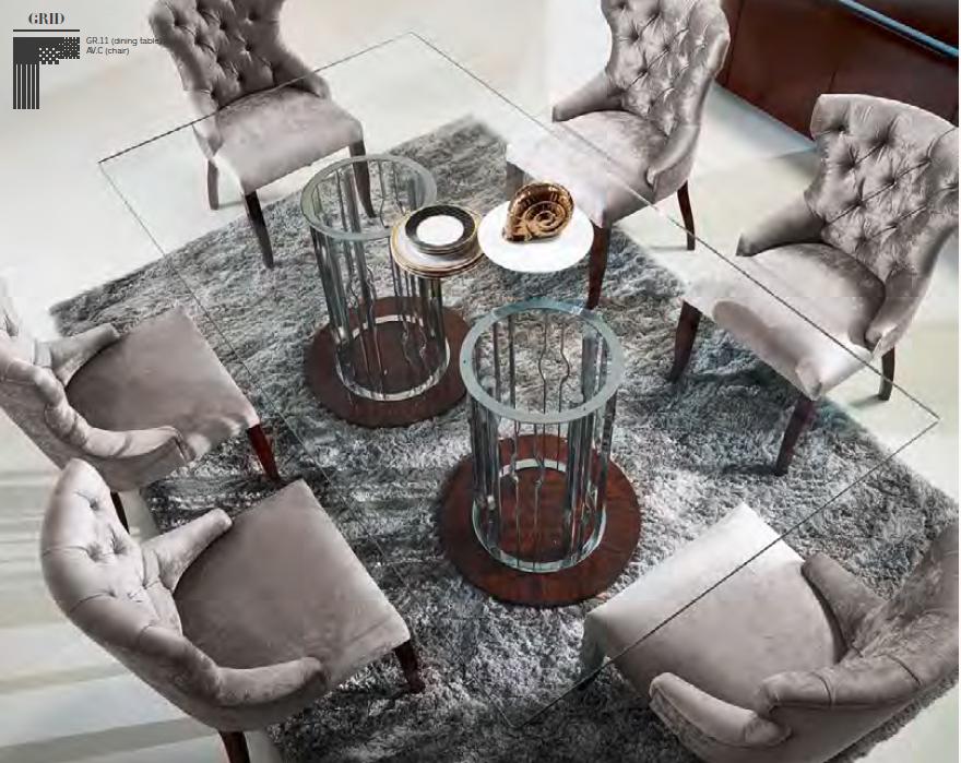 Mesa comedor de cristal moderna - Villalba Interiorismo (8)