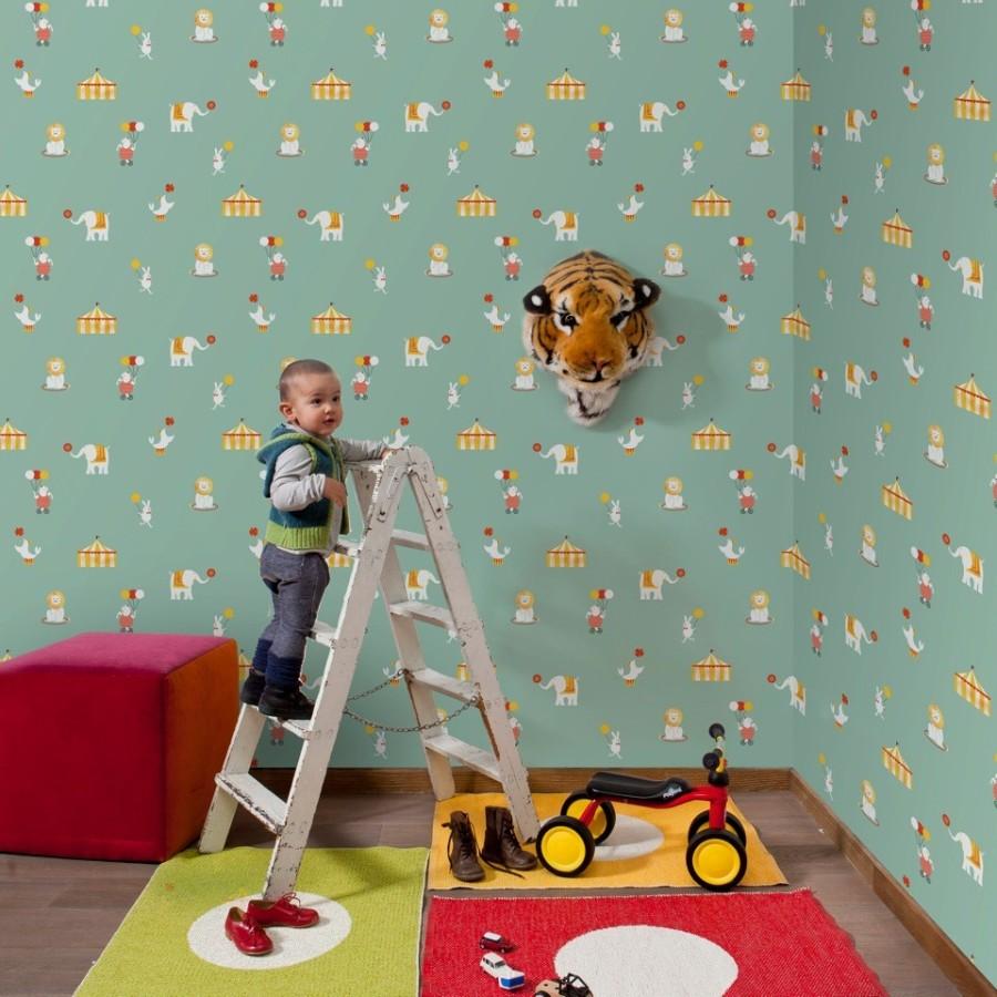 Papel pintado habitación niños - Villalba Interiorismo (2)