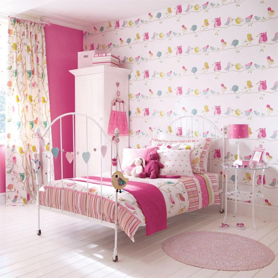 Papel pintado y telas coordinado habitación niños - Villalba Interiorismo (2)