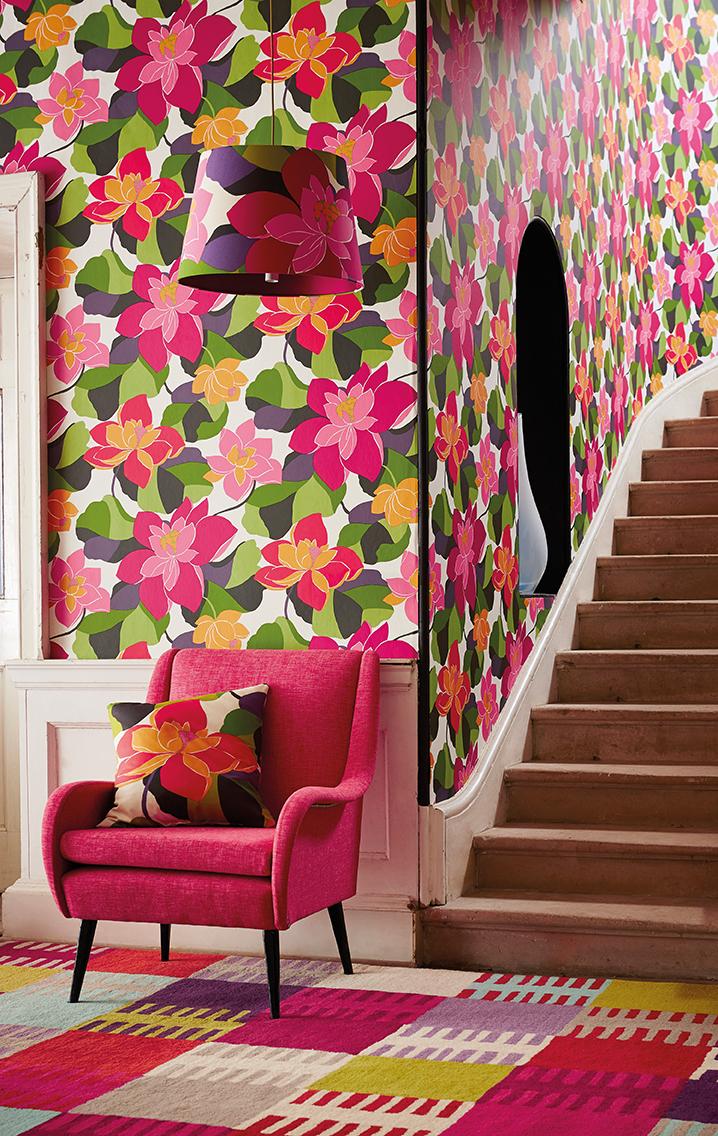 Papeles pintados a todo color villalba interiorismo - Papeles pintados juveniles ...