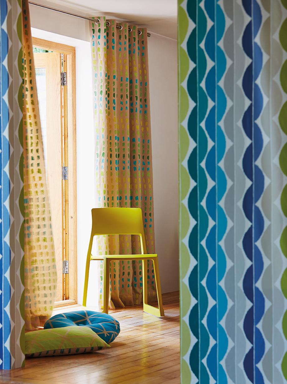 Papeles pintados a todo color villalba interiorismo - Papeles pintados modernos ...