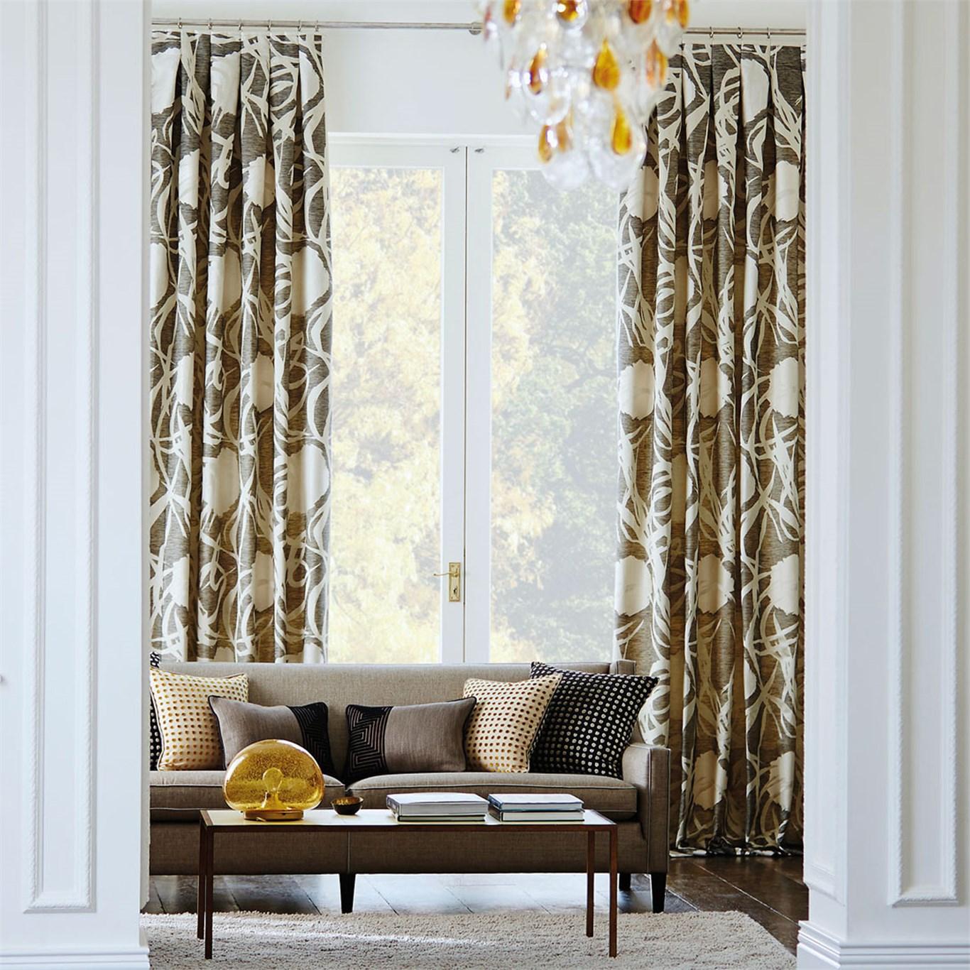 Consejos para a adir calidez a tu hogar con texturas for Doble cortina para salon