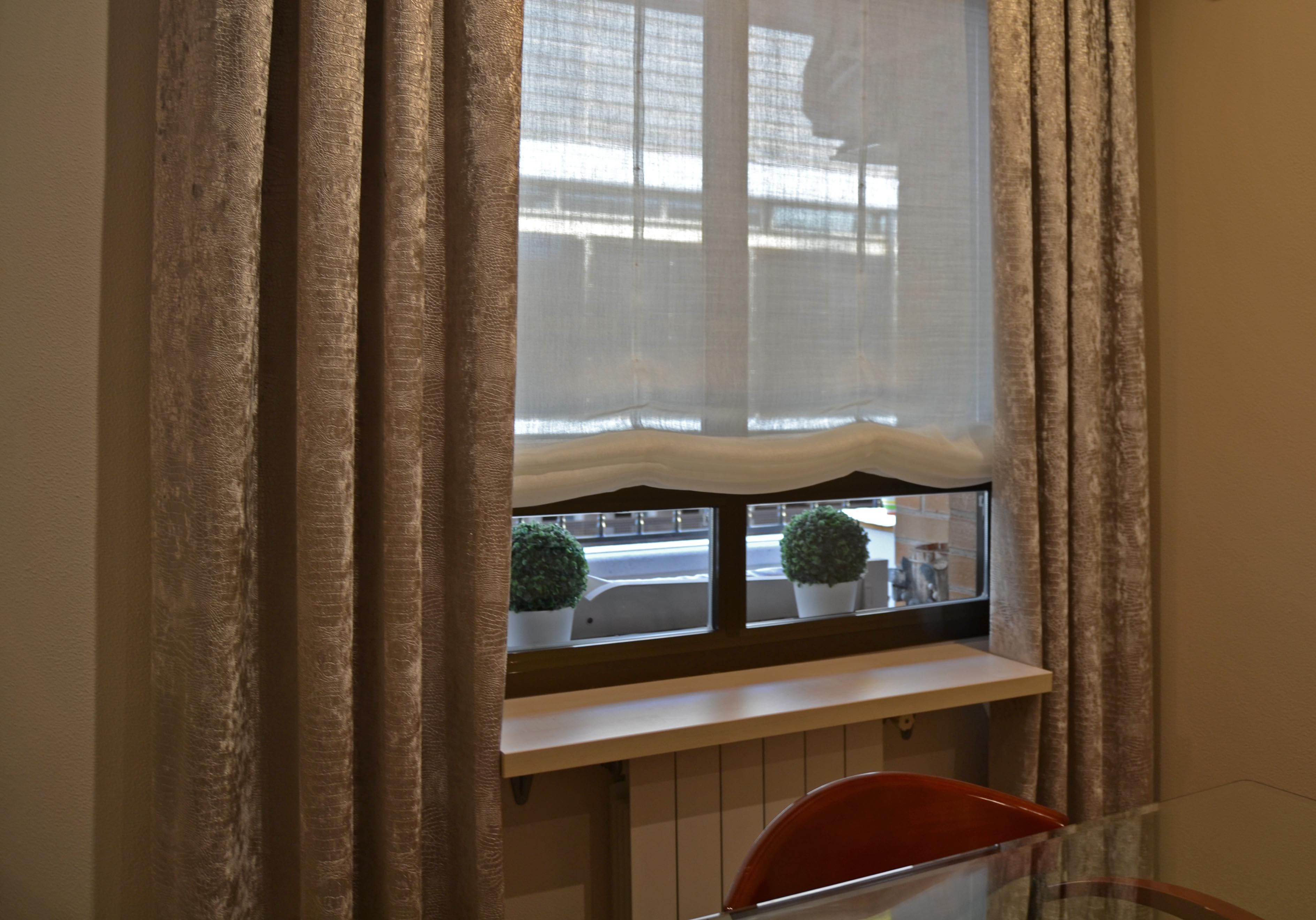 estor y dobles cortinas villalba