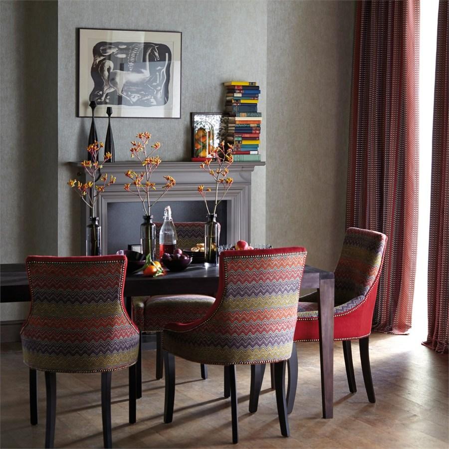 sillones tapizados con textiles - Villalba Interiorismo