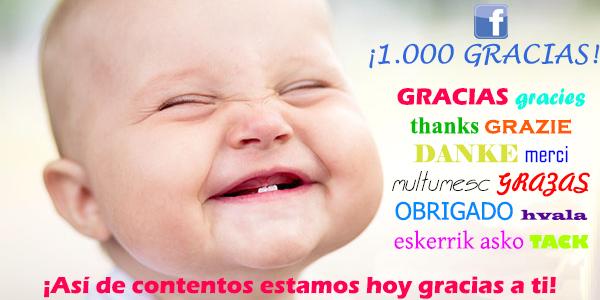 1000 fans Facebook - Villalba Interiorismo2