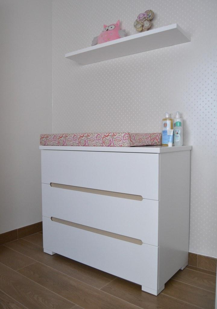 Cómoda habitación bebé - Villalba Interiorismo
