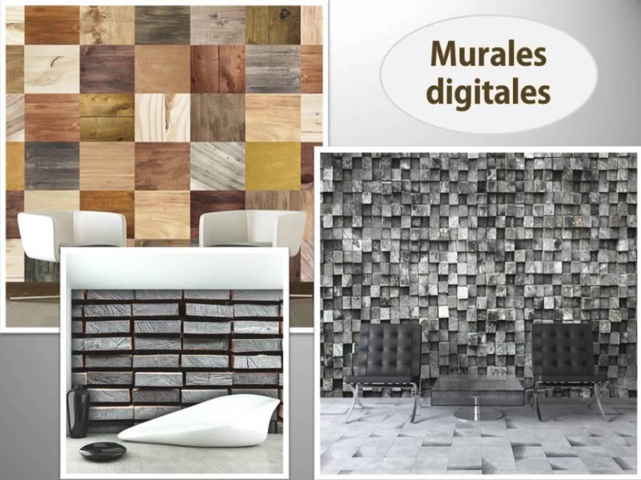 Murales digitales (2) - Villalba Interiorismo