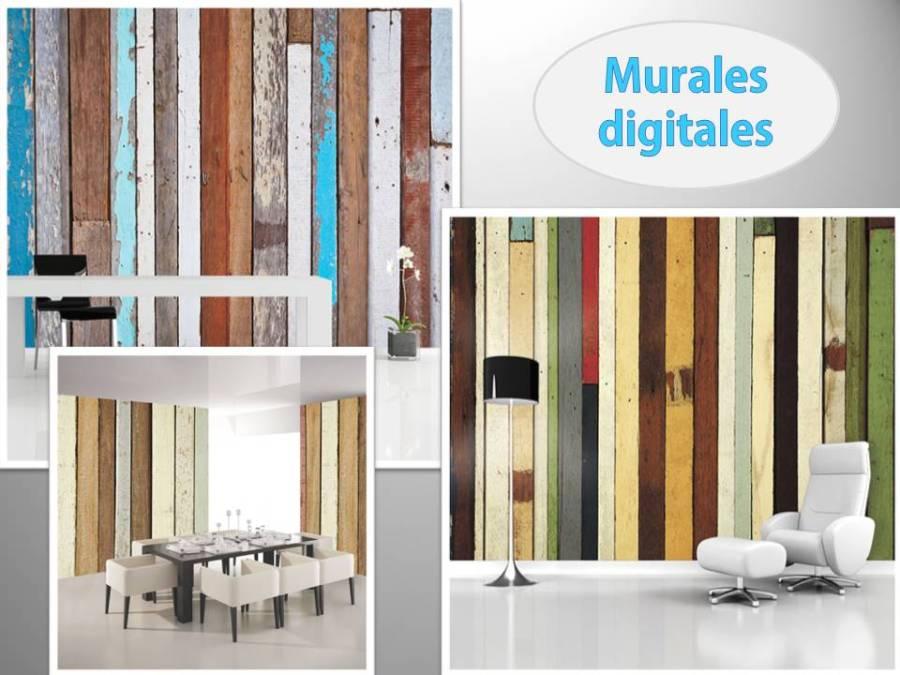 Murales digitales - Villalba Interiorismo
