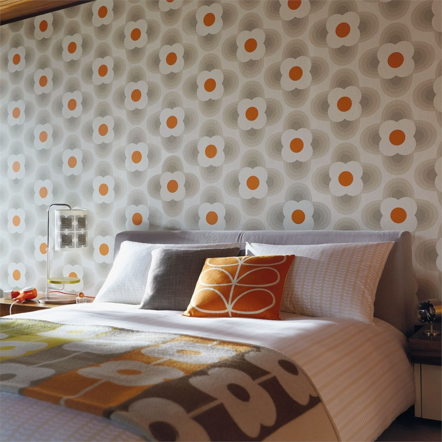 Papel pintado de flores dormitorio - Villalba Interiorismo (7)