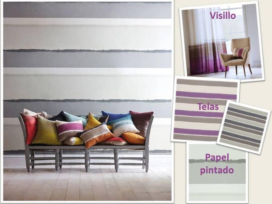 Rayas horizontales - Villalba Interiorismo