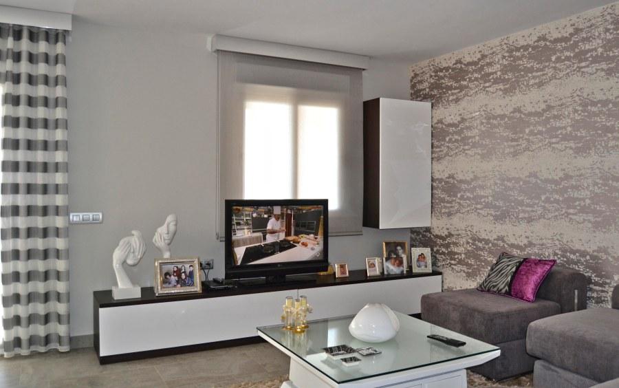 Salón moderno - Villalba Interiorismo
