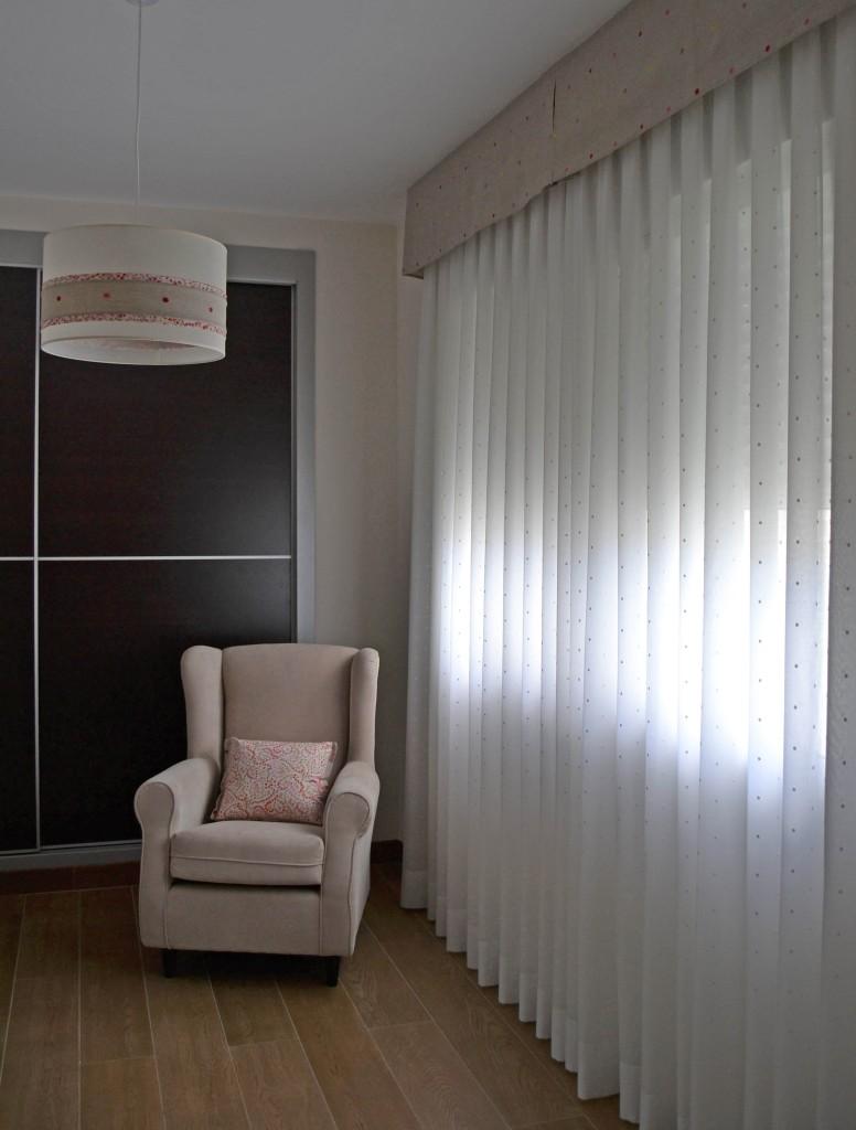 Sillón habitación bebé - Villalba Interiorismo
