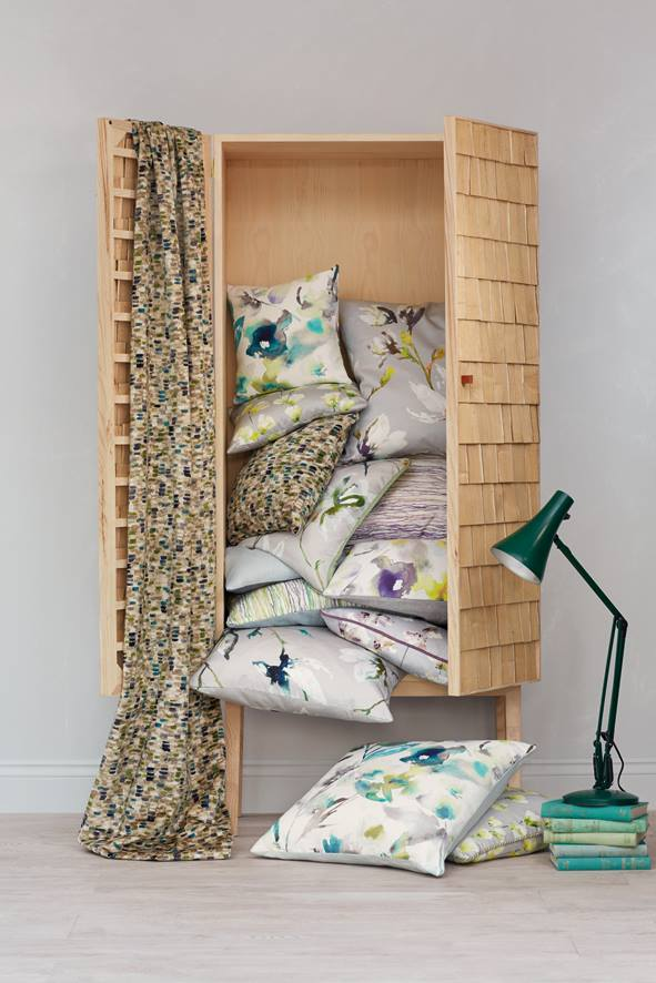 Cojines de flores - Villalba Interiorismo