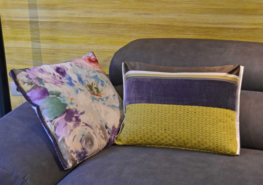 Cojnes para sofá gris - Villalva Interioriosimo