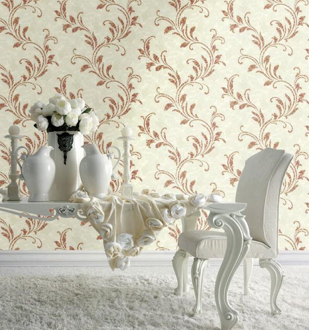 Comedor con papel pintado de Blumarine - Villalba Interiorismo