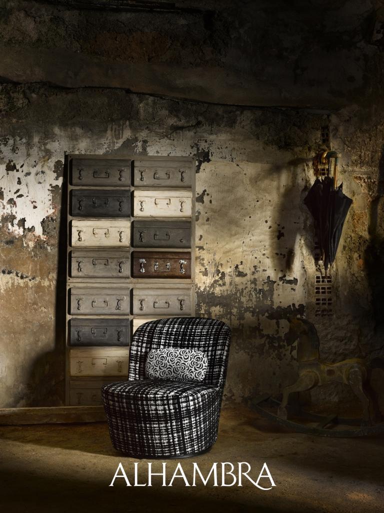 Sillón tapizado - Villalba Interiorismo (2)