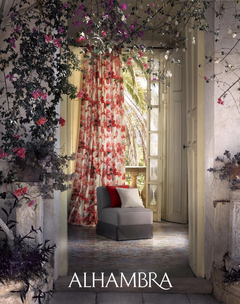 Tela de flores - Villalba Interiorismo (2)