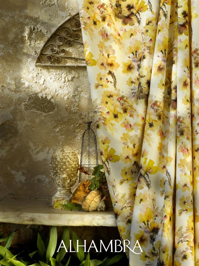Tela de flores - Villalba Interiorismo