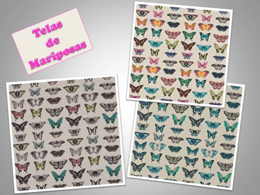Telas de mariposas - Villalba Interiorismo