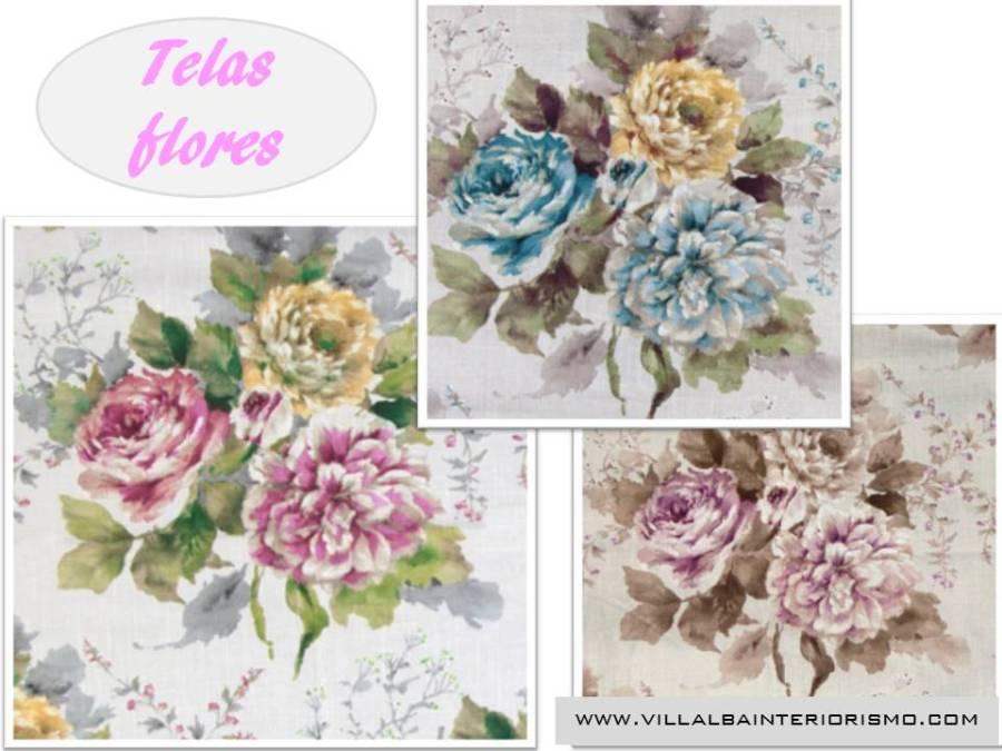 Telas flores - Villalba Interiorismo (3)