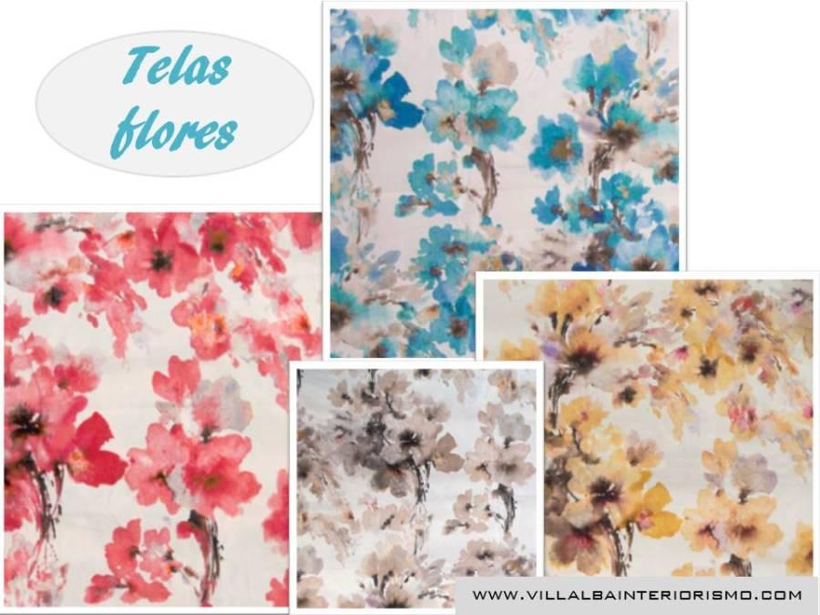 Telas flores - Villalba Interiorismo (4)